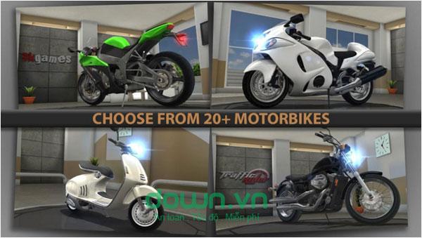 game đua moto hấp dẫn