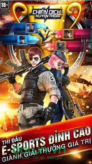Tải game bắn súng kịch tính cho Android