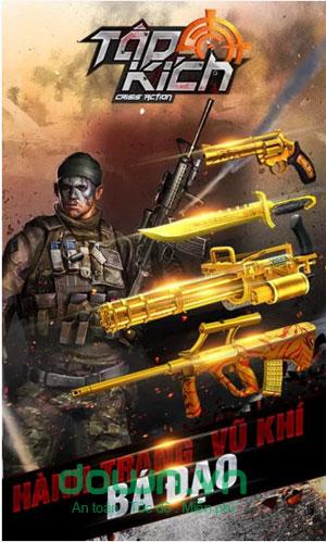 game hành động bắn súng