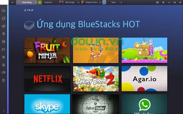 Chơi game Angry Birds 2 trên máy tính