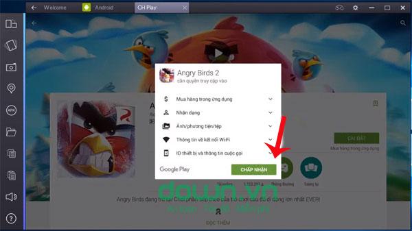 Chơi Angry Birds 2 trên máy tính