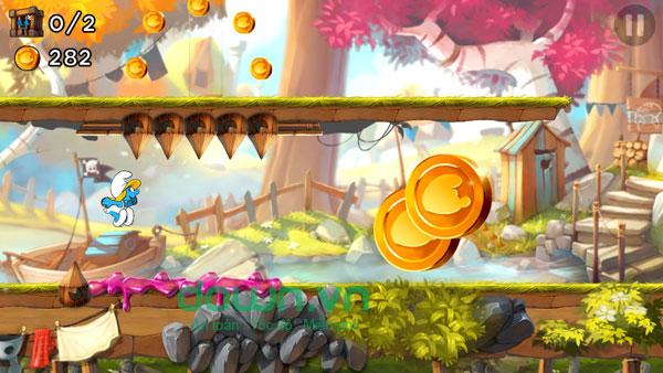 game Smurfs Epic Run miễn phí