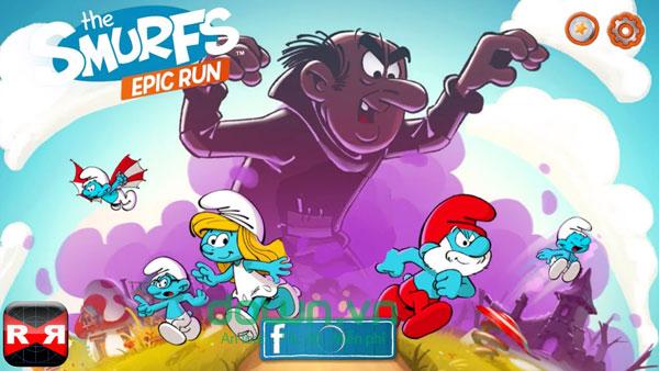 game Smurfs Epic Run