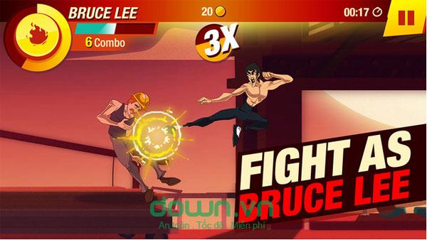 Tải game võ thuật Lý Tiểu Long miễn phí