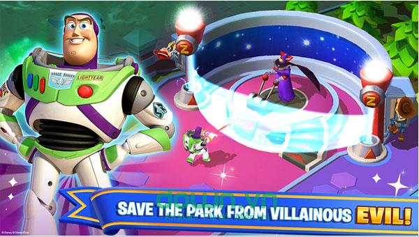 Tải game xây dựng công viên Disneyland