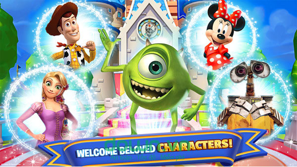 game Disney Magic Kingdoms miễn phí