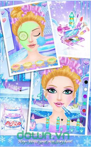 tải game Princess Salon: Frozen Party