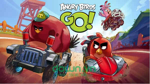 Tải game chim điên đua xe