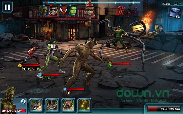 Game Marvel: Avengers Alliance 2