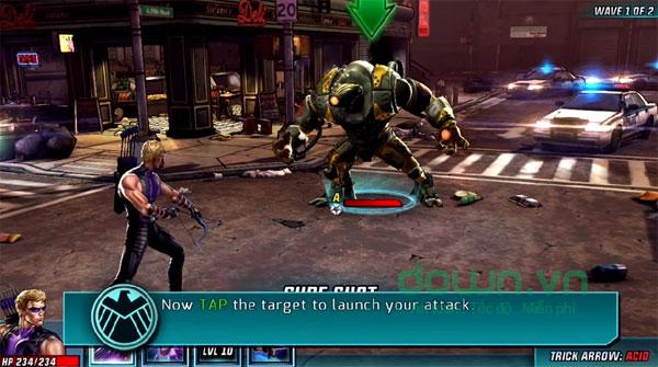 Tải Game Marvel: Avengers Alliance 2