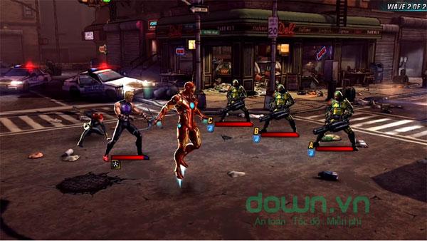 Tải Marvel: Avengers Alliance 2