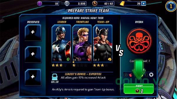 Game biệt đội siêu anh hùng 2