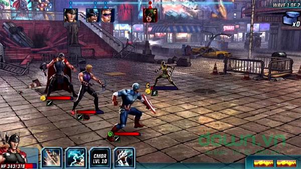 Tải Game biệt đội siêu anh hùng 2