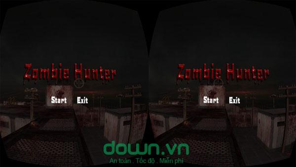 Game bắn zombie với kính thực tế ảo