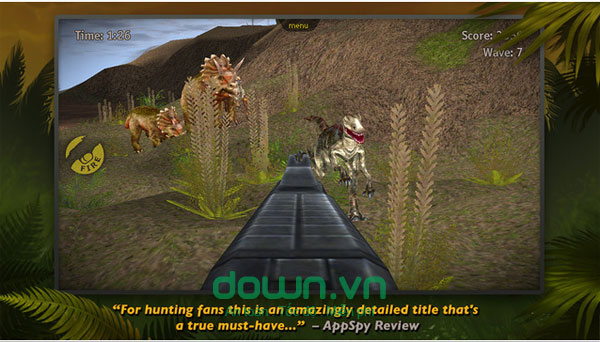 Game săn khủng long hấp dẫn