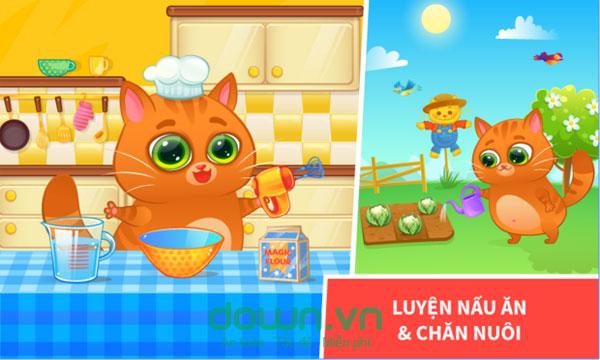 game nuôi mèo ảo Bubbu