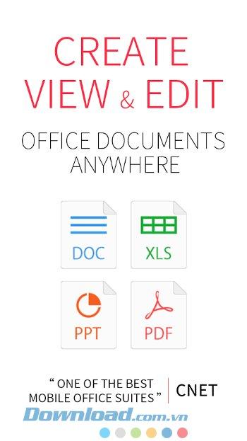 WPS Office được tích hợp nhiều tính năng mạnh mẽ