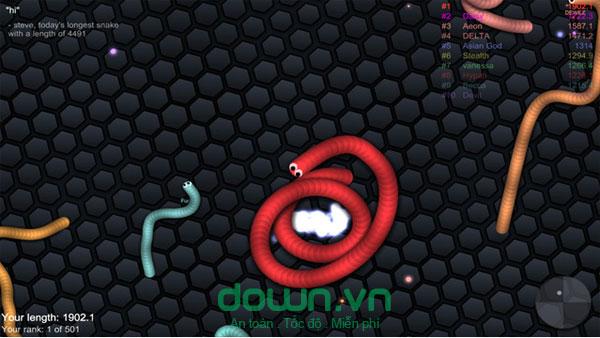 Game rắn săn mồi hấp dẫn