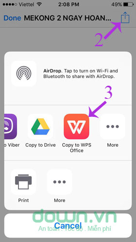Copy To WPS Office