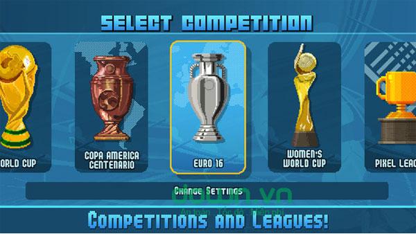 Game bóng đá hấp dẫn cho iPhone