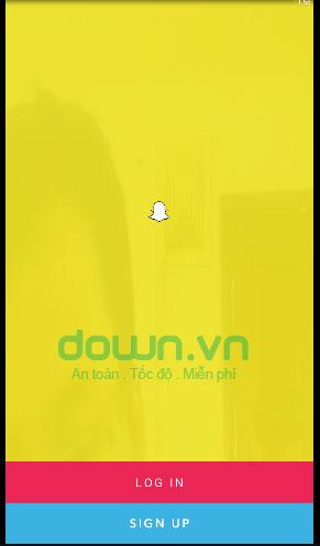 Đăng nhập tài khoản Snapchat