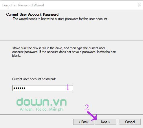 Nhập mật khẩu đăng nhập