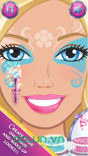 Game thời trang Barbie cho iPhone