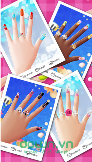 Game sơn móng tay cho iPhone