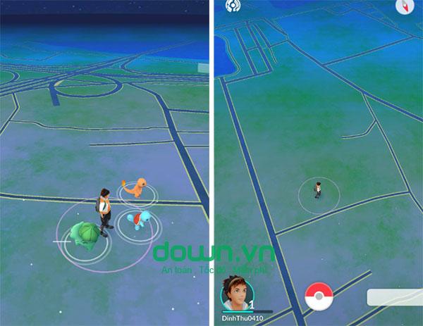 Cách chơi game bắt Pokemon thực tế ảo