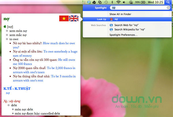 VIETTIEN Dictionary for Mac