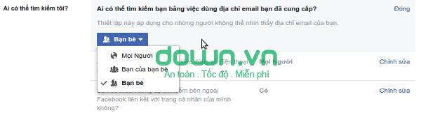 Hướng dẫn chặn người lạ tìm kiếm bạn trên Facebook