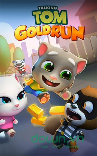 Talking Tom Gold Run cho iOS