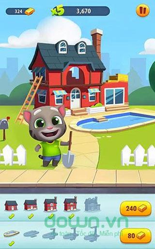 Game Talking Tom Gold Run cho iOS