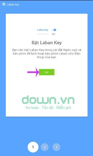 Bật Laban Key