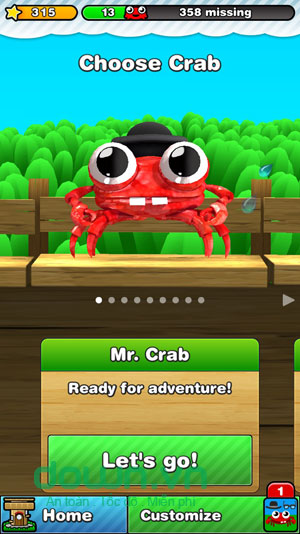 Mr. Crab 2 for iOS