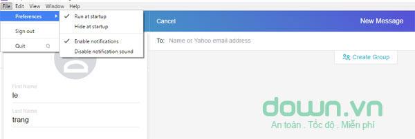Tải Yahoo! Messenger