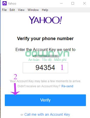 Nhập mã đăng ký