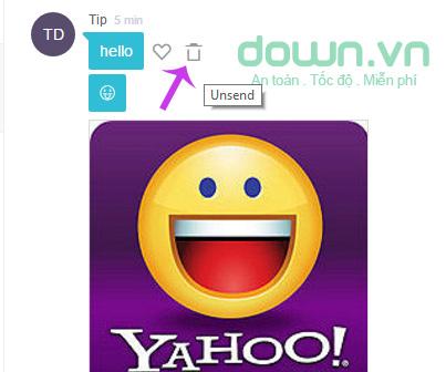Thu hồi tin nhắn Yahoo Messenger