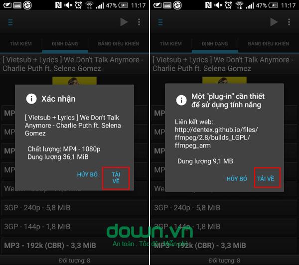 Cách download video trên youtube về điện thoại