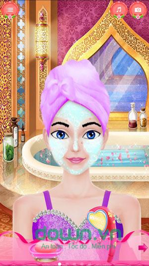Game trang điểm công chúa dự tiệc