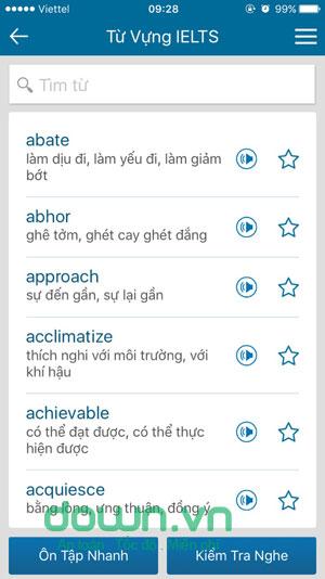 Từ điển Anh Việt offline cho iPhone