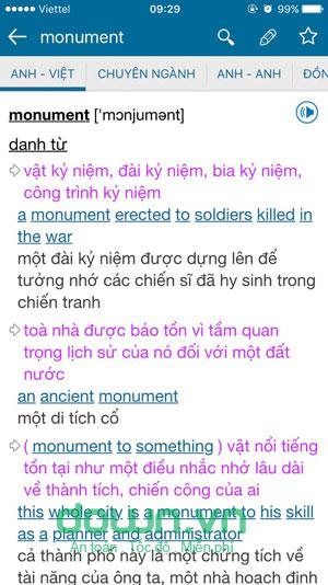 Download từ điển Anh Việt