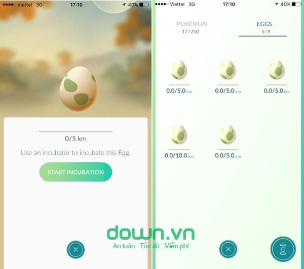 Nhận stardust miễn phí trong pokemon go