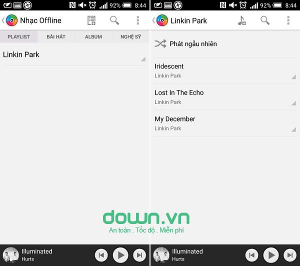 Cách bước tạo Playlist trên MP3 Zing