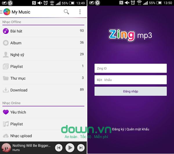 Các bước tạo playlist trên Zing MP3