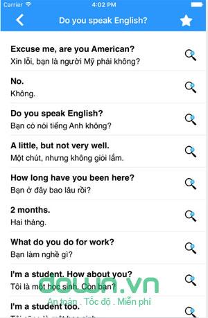 Phần mềm học Tiếng Anh giao tiếp hiệu quả
