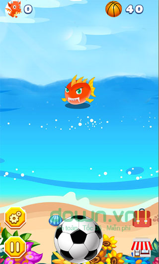 Game Monster and Ball cho iOS