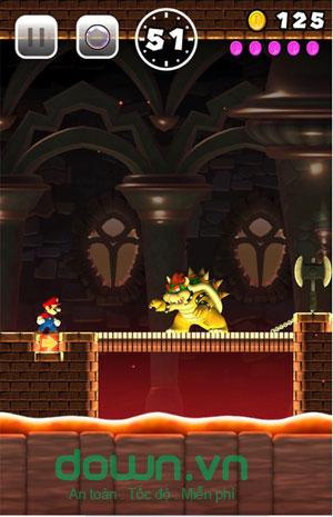 Game Mario ăn nấm hấp dẫn