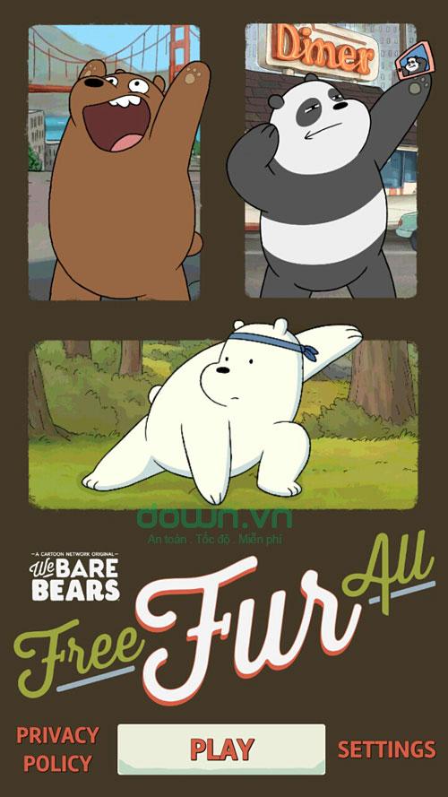 Game những chú gấu vui vẻ