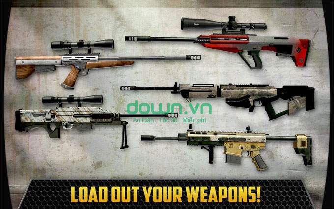 Kho vũ khí đồ sộ
